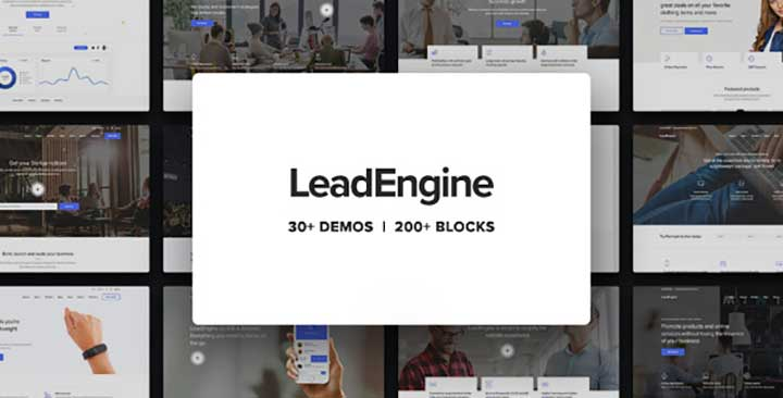LeadEngine Forum Theme for WordPress
