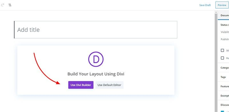 New-Post-with-Divi-Builder