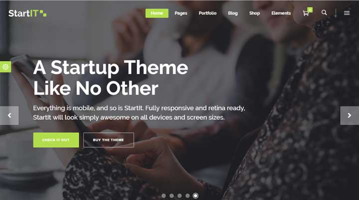 Fresh Startup Business Theme