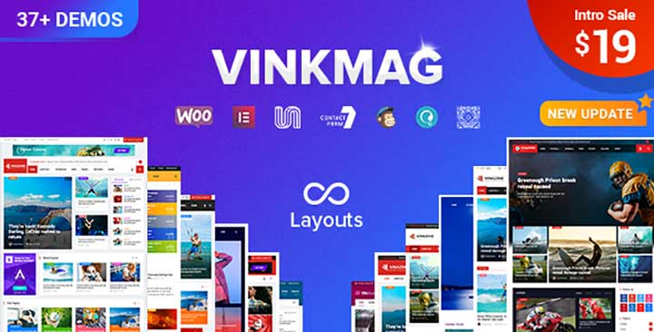 VinkMag SEO Friendly WordPress Theme