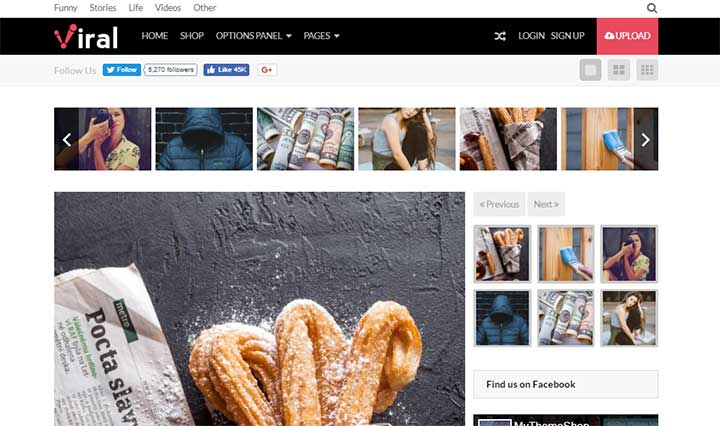 Viral WordPress Theme MyThemeShop