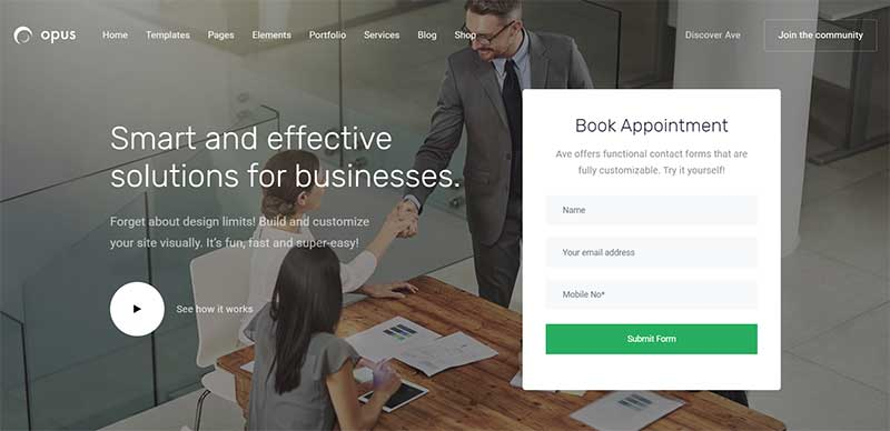 Ave WordPress Business Theme