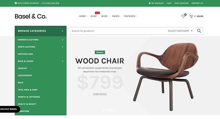 Furniture WP Themes