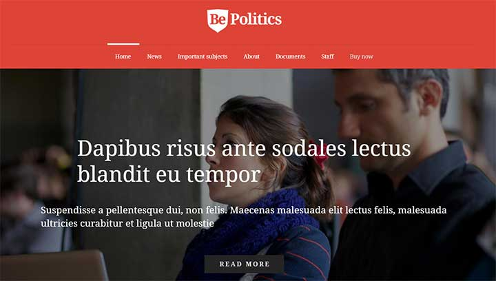 Be politics