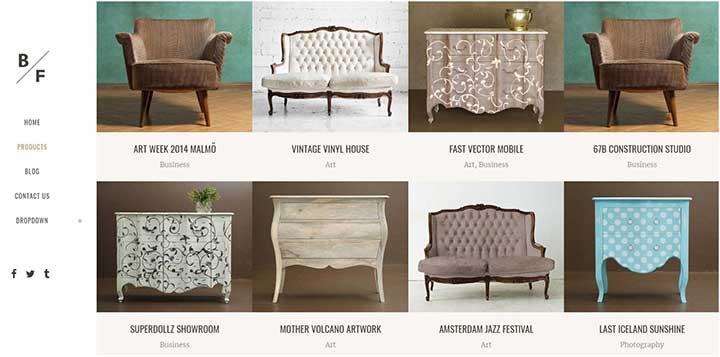 WordPress Furniture Themes