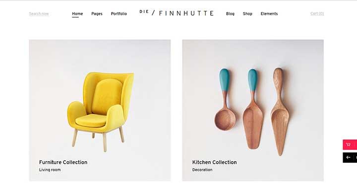 Die Finnhutte Furniture Themes