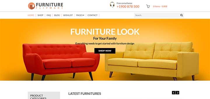 WP Furniture Theme