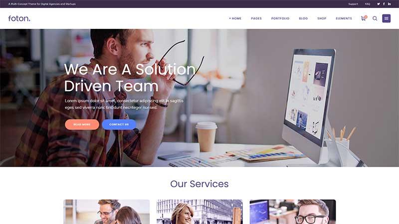 Foton WordPress Business Theme
