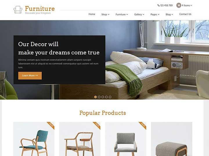 Furniture WordPress Themes