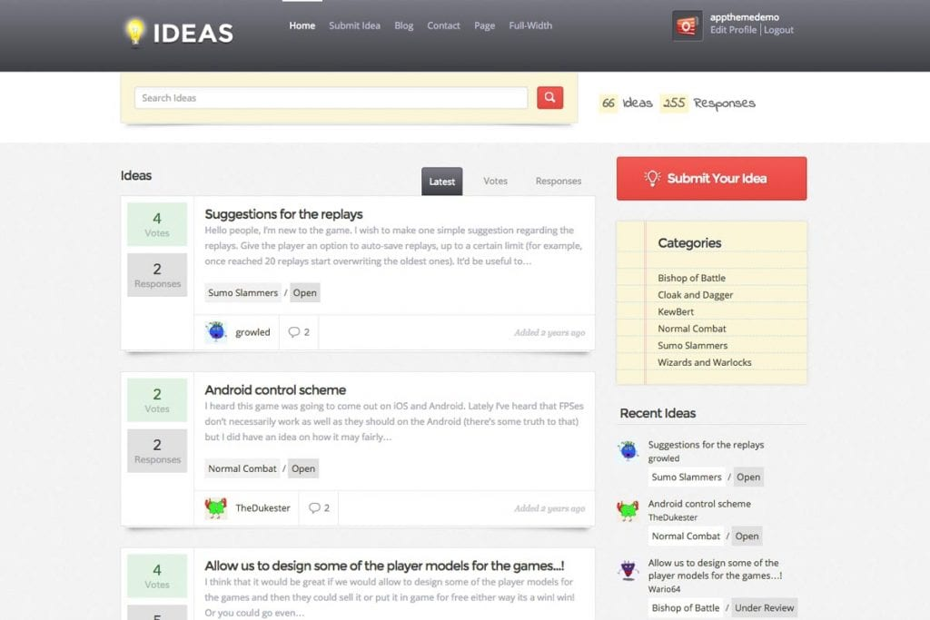 Ideas AppThemes