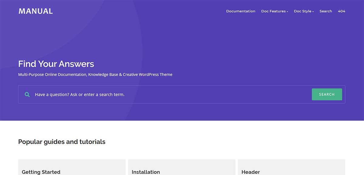 Manual WordPress Forum Themes
