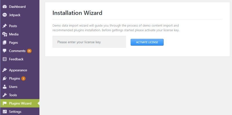 Monstroid2 installation wizard