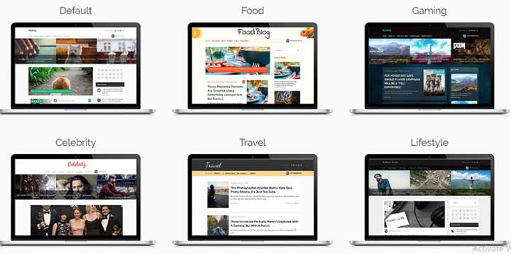 MyBlog Adsense WordPress Theme