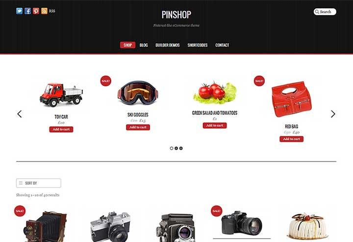 Pinshop WP Themes