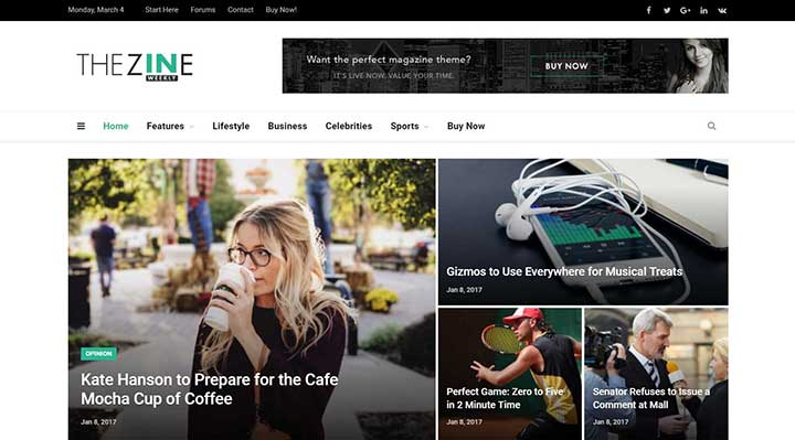 SmartMag Adsense WordPress Template