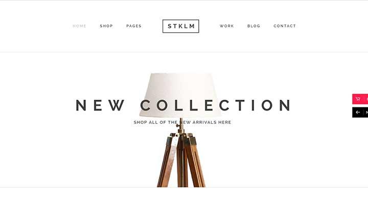 WordPress Furniture Templates
