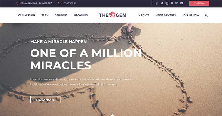TheGem Creative & Fast Multi-Purpose High-Performance WordPress Theme