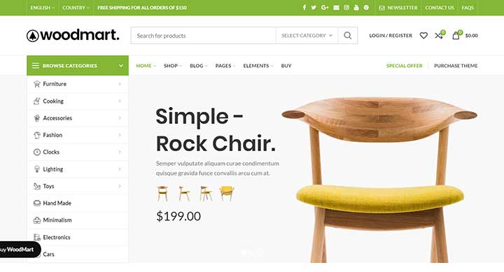 WoodMart Dropshipping WordPress Theme