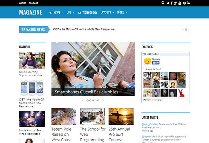 Magazine Fastest WordPress Theme