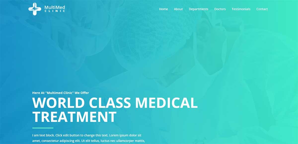 Astra Medical WordPress Theme