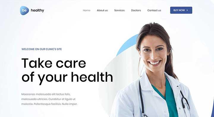 BeTheme Health WordPress Theme