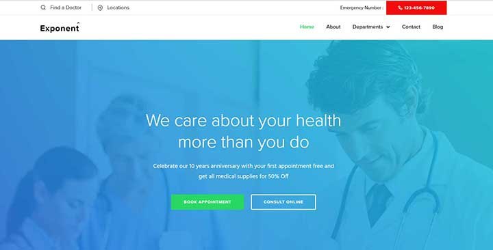 25 Best Health Care & Medical WordPress Themes of 2019 Revealed