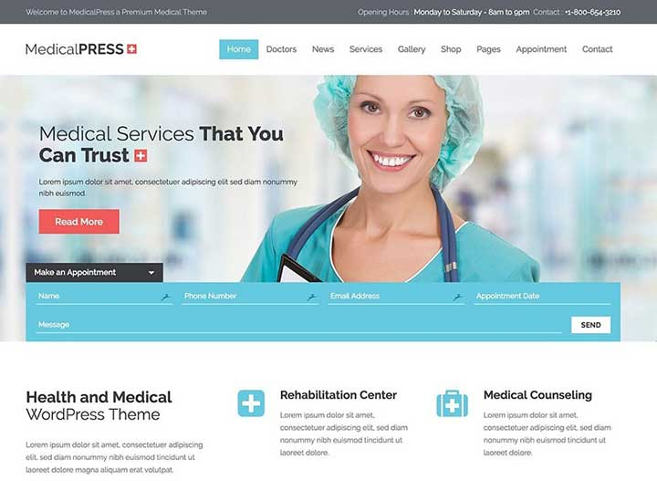 medicalpress-health-and-medical-wordpress-theme