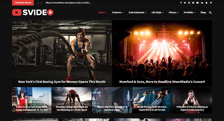 Soledad WordPress Video Theme