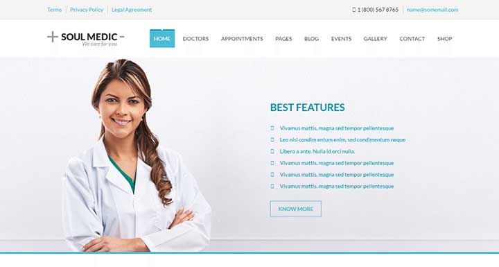 soulmedic-health-medical-health-care-theme