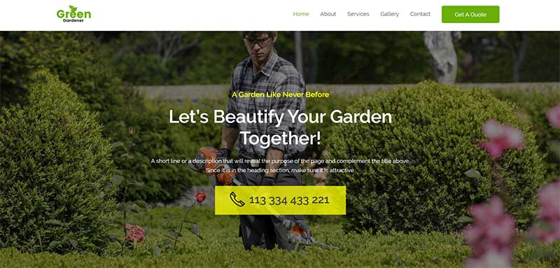 Astra Gardening Theme