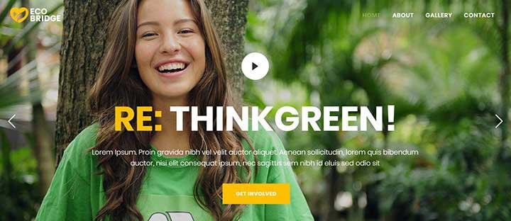Bridge WordPress Gardening Theme