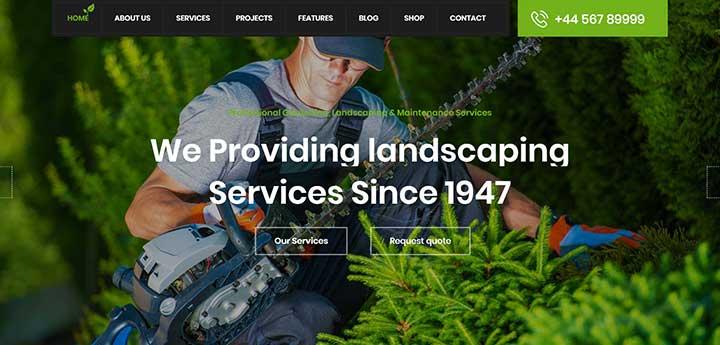 Garden HUB WordPress Theme