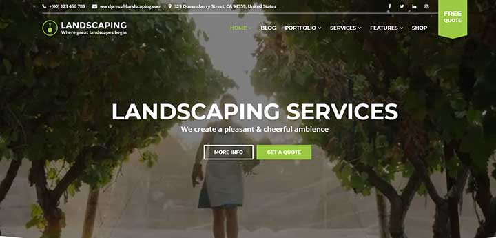 Landscaping Template