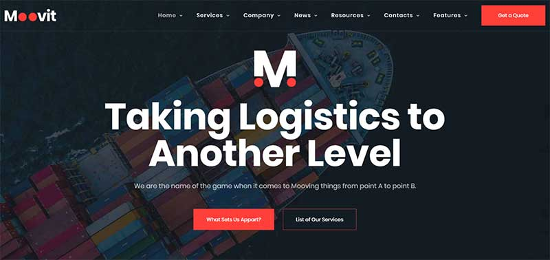 Moovit WordPress Themes for Transportation