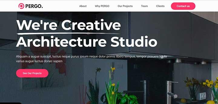 Pergo WordPress Gardening Theme