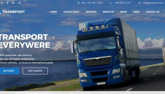 Logistic WordPress Themes