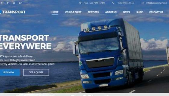 Logistic WordPress Themes