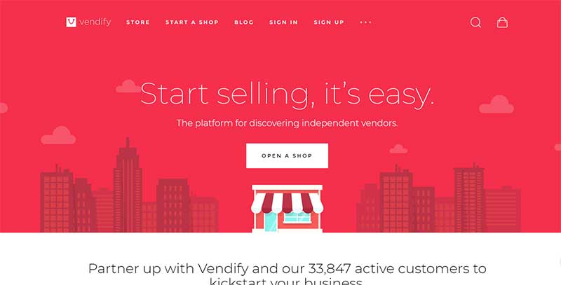 Vendify Marketplace WordPress Theme