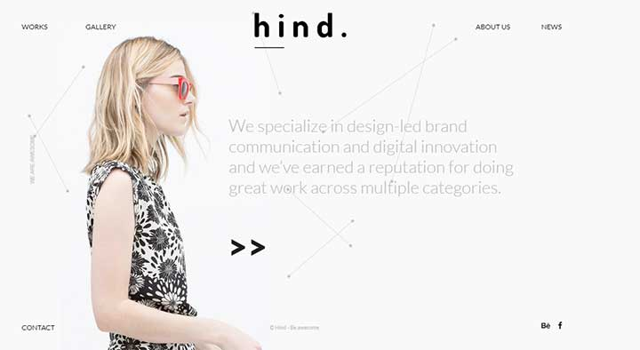 Hind Multi-Concept Portfolio WordPress Theme