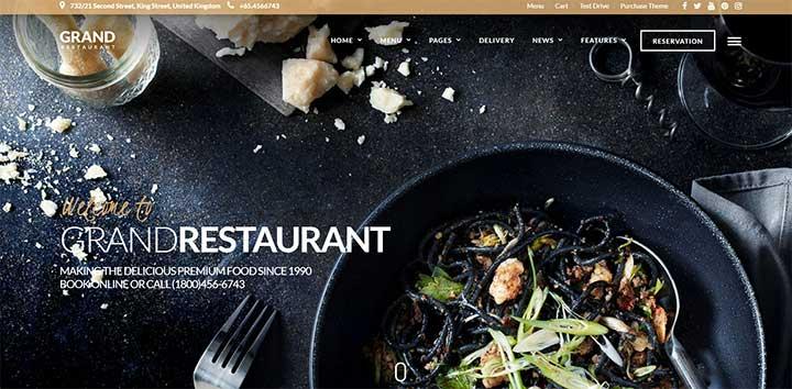 Grand Restaurant Template