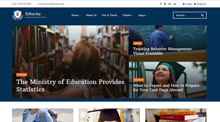 JNews Education WordPress Theme