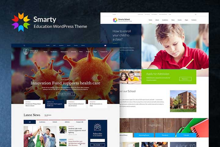 Smarty Education WordPress Theme
