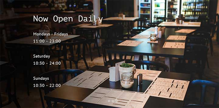 Total WordPress Restaurant Theme