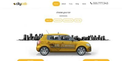 Car Rental WordPress Themes