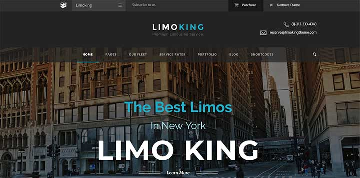 Limo King Limousine Rental Website