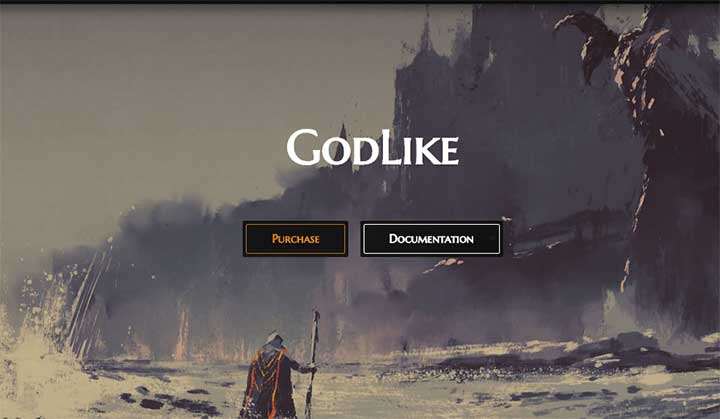 Godlike Gaming Theme for WordPress
