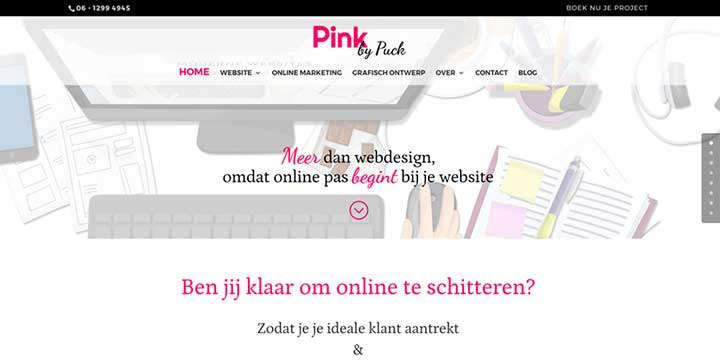Pink by Puck