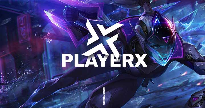 PlayerX Gaming Theme