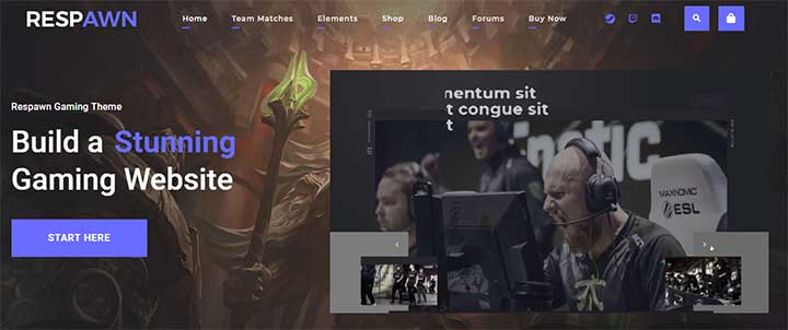 Respawn WP Theme