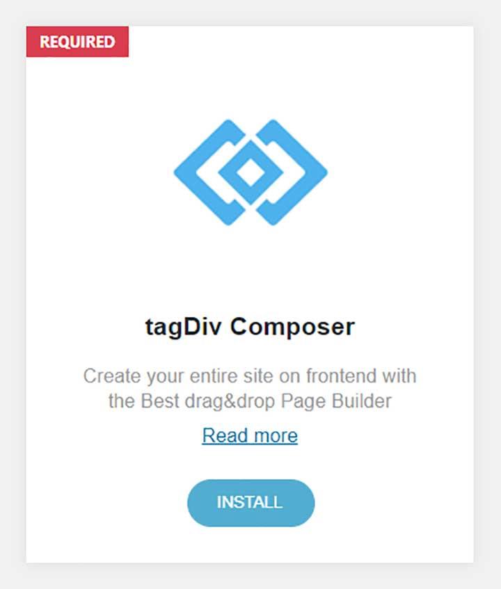 tagDiv Composer